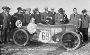 AUSTIN 7 photo Gordon England  at Brooklands 200 miles race 1920s
